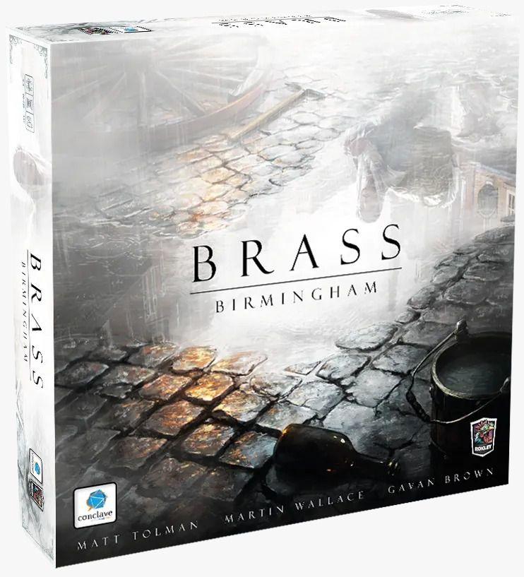Brass Birmingham Jogo de Tabuleiro Conclave   - Place Games