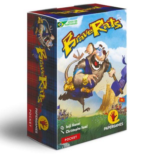 Brave Rats Jogo de Cartas PaperGames J025  - Place Games