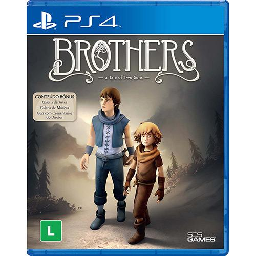 Brothers a Tale of Two Sons Playstation 4 Original Lacrado  - Place Games