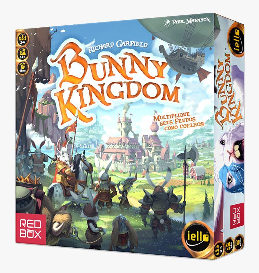 Bunny Kingdom Jogo de Tabuleiro Red Box RBX27001  - Place Games