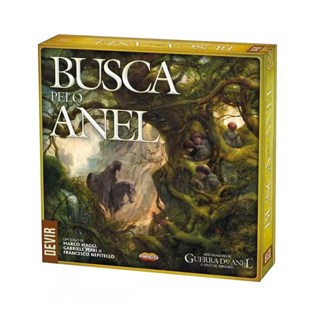 Busca pelo Anel Jogo de Tabuleiro Devir BGUSAPT  - Place Games