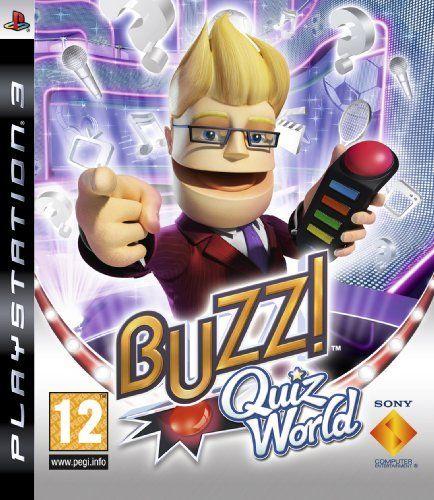 Buzz Quis World Playstation 3 Original Usado  - Place Games