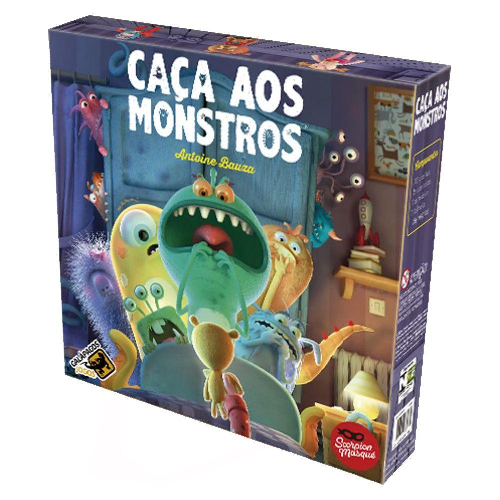 Caça aos Monstros Jogo de Tabuleiro Galapagos CAM001  - Place Games