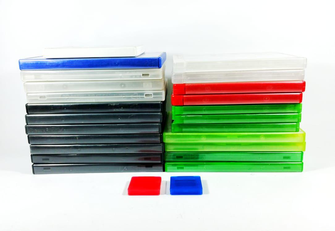 Caixas de PS3 XBOX 360 XBOX ONE DVD Blu Ray Original  - Place Games