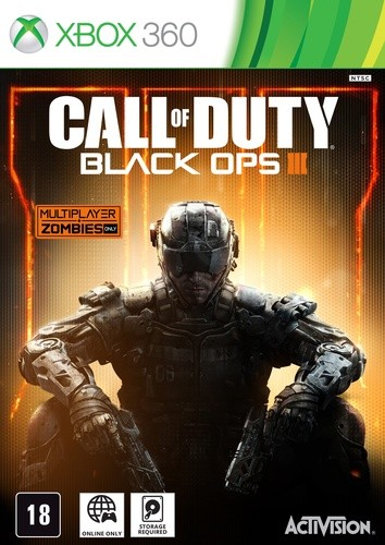 Call of Duty Black Ops 3 Xbox 360 Original Lacrado  - Place Games
