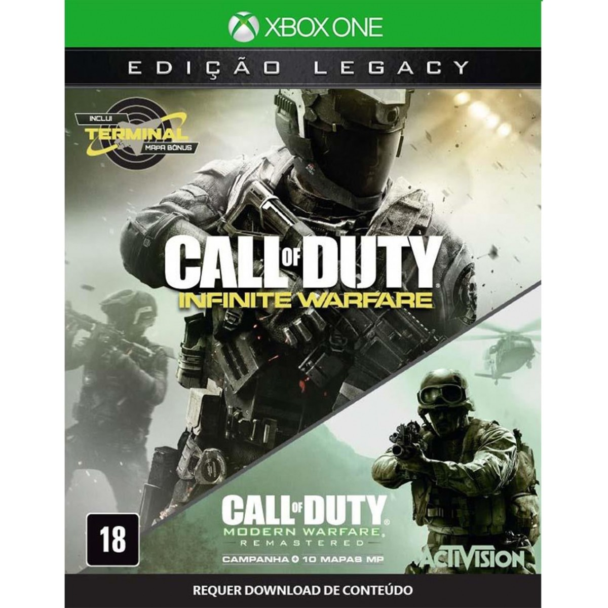 Call of Duty Infinite Warfare Legacy Edition Xbox One Original Lacrado  - Place Games