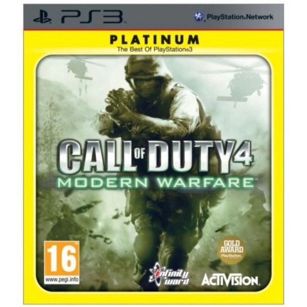 Call of Duty Modern Warfare Platinum Hits Playstation 3 Original Usado  - Place Games