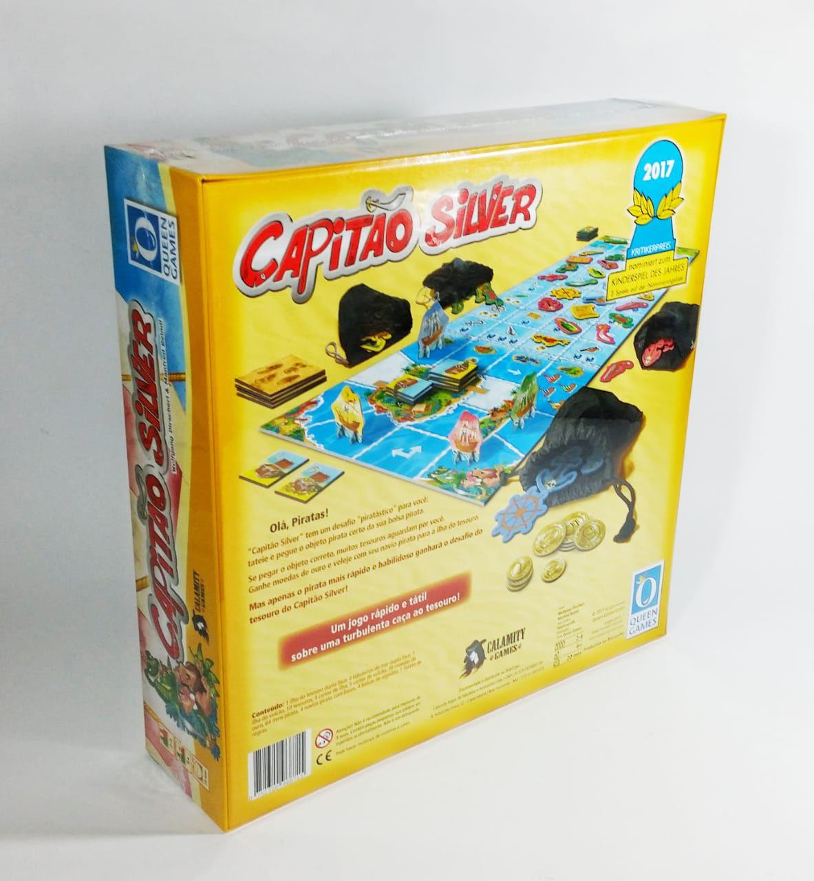 Capitão Silver Jogo de Tabuleiro Calamity Games  - Place Games