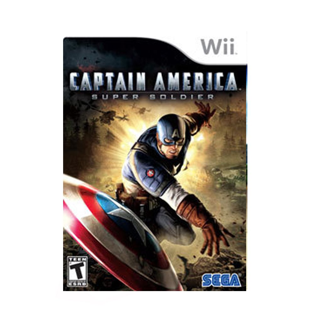 Captain America Super Soldier Nintendo Wii Midia FIsica Original Usado  - Place Games