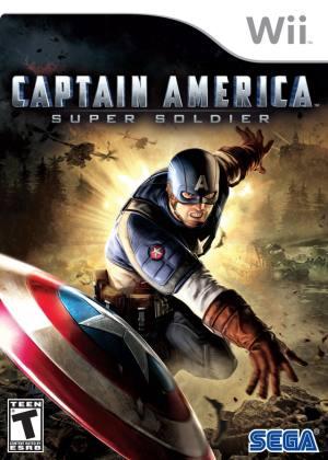 Captain America Wii Usado Original  - Place Games