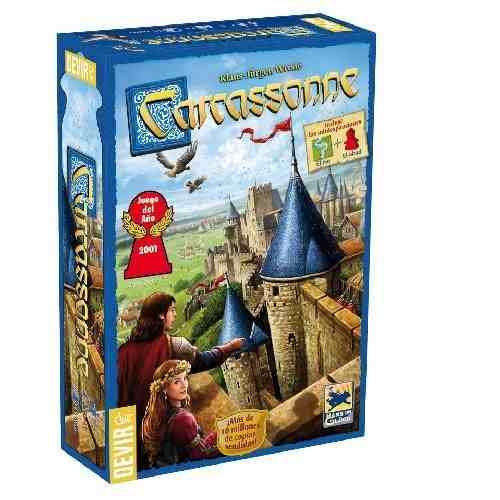Carcassonne 2 ED. Jogo de Tabuleiro Devir BGCARCAS2BR  - Place Games