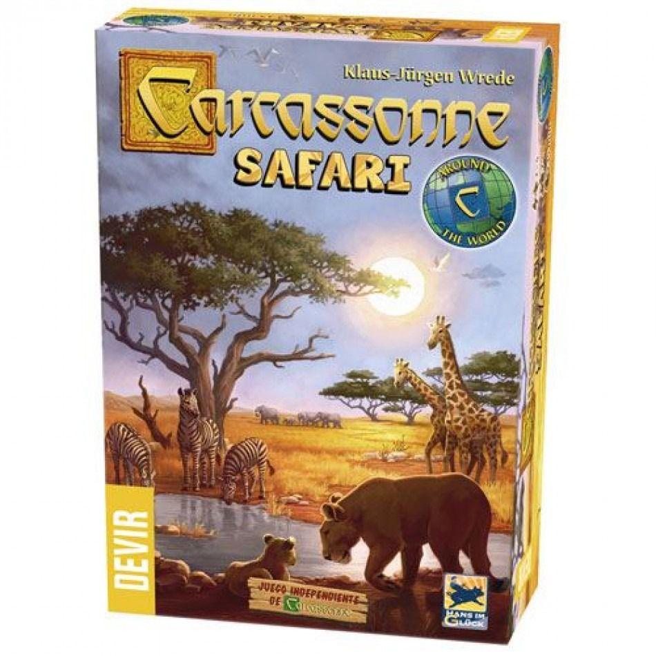 Carcassonne Safari Jogo de Tabuleiro Devir BGCARCASA  - Place Games