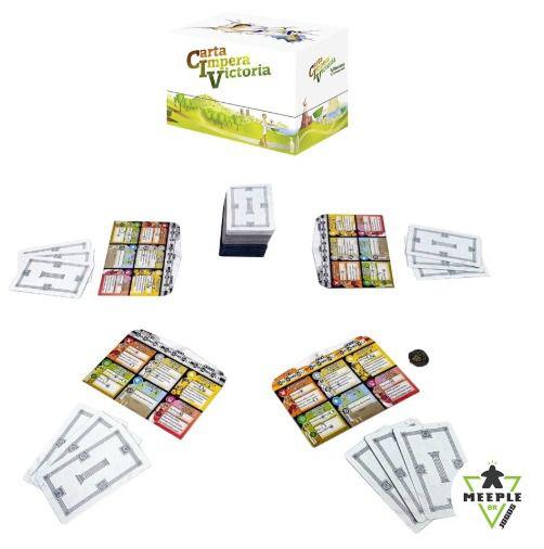 Carta Impera Victoria Jogo de Cartas Meeple BR   - Place Games