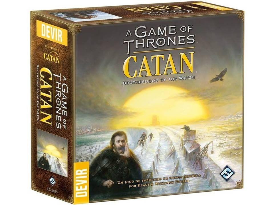 Catan A Guerra dos Tronos Game of Thrones Jogo de Tabuleiro Devir  - Place Games