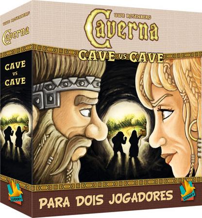 Caverna Cave vs Cave Jogo de Tabuleiro Ludofy  - Place Games