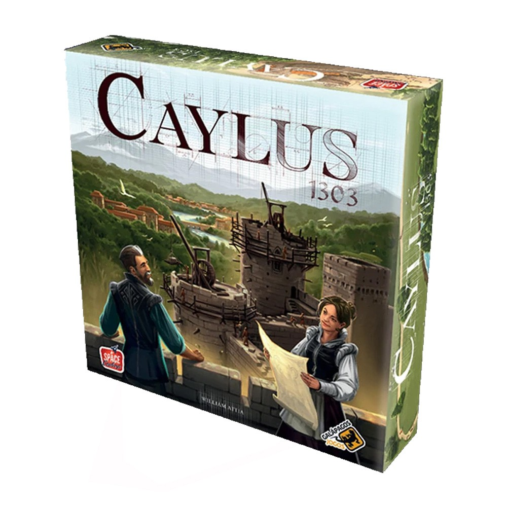 Caylus 1303 Jogo de Tabuleiro Galapagos CYL001  - Place Games