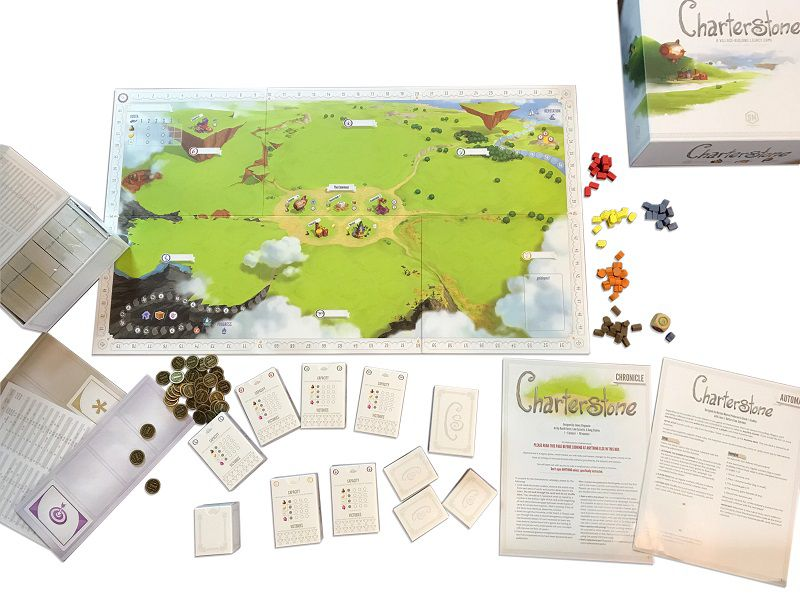 Charterstone Legacy Jogo de Tabuleiro Ludofy   - Place Games
