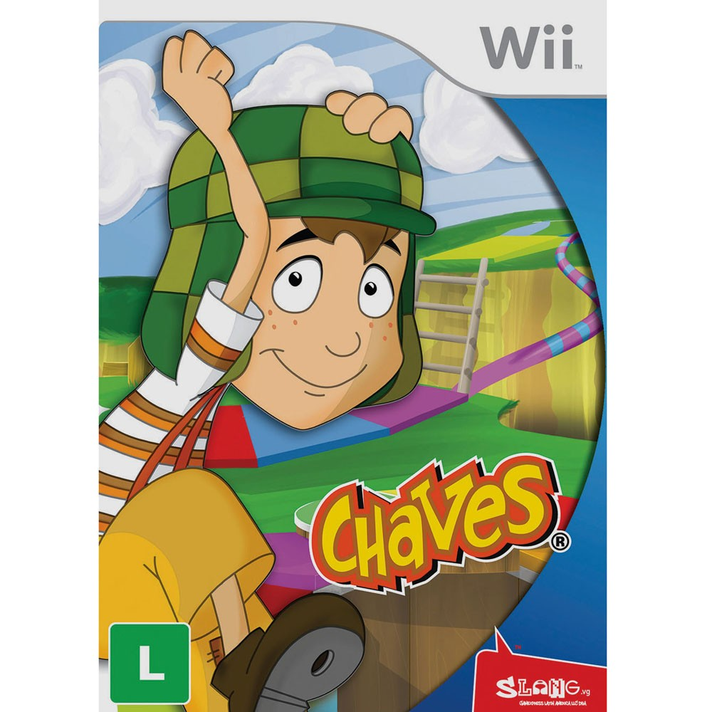 Chaves Nintendo Wii Original Lacrado  - Place Games