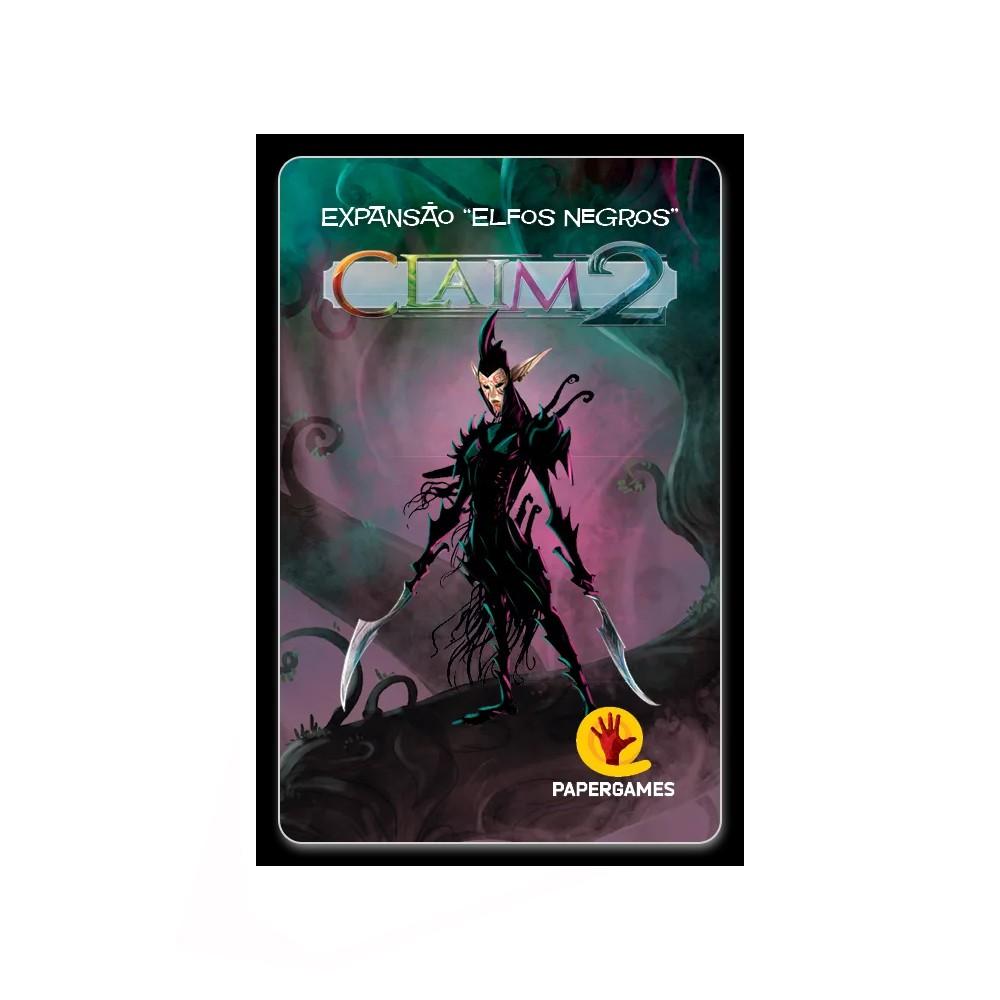 Claim 2 Elfos Negros Expansão de Jogo de Cartas PaperGames J041  - Place Games