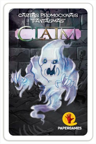 Claim Promo Fantasmas Expansão de Jogo de Cartas PaperGames P003  - Place Games