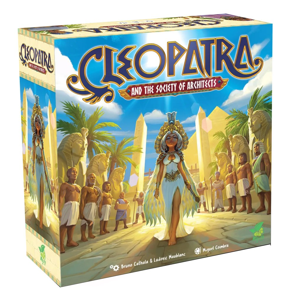 Cleopatra and the Society of Architects Jogo de Tabuleiro Conclave  - Place Games