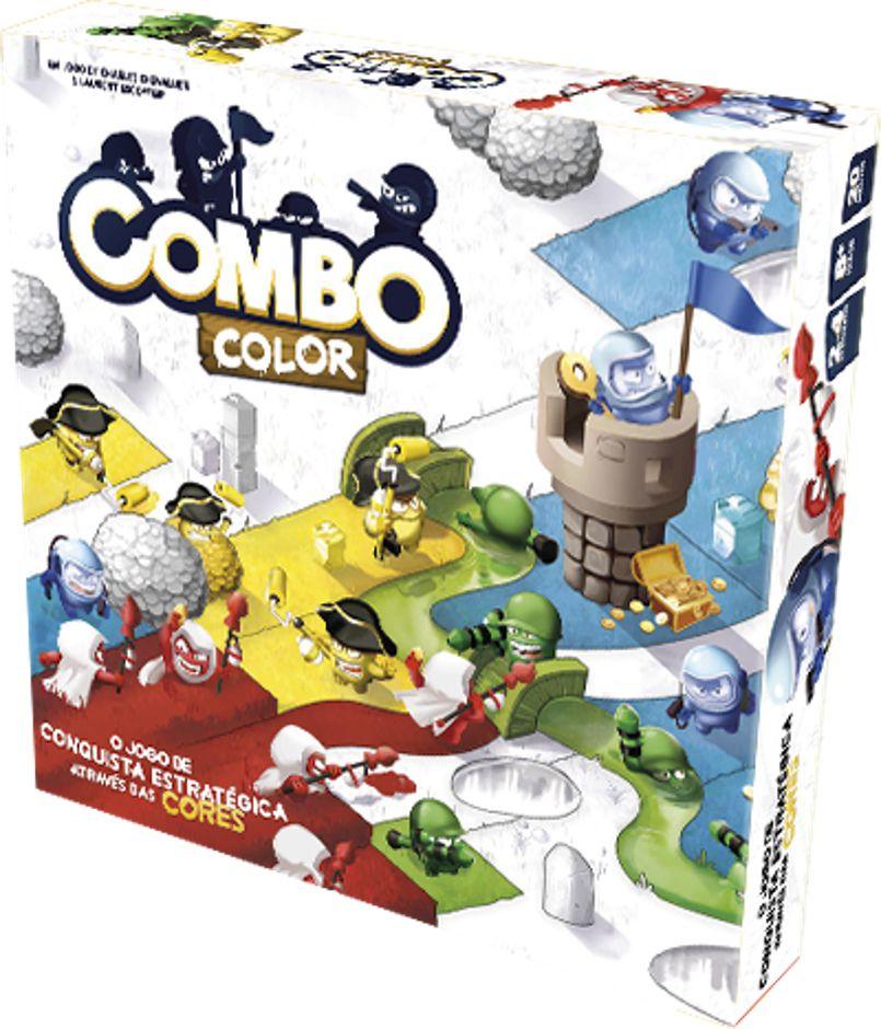 Combo Color Jogo de Tabuleiro Galapagos CCL001  - Place Games
