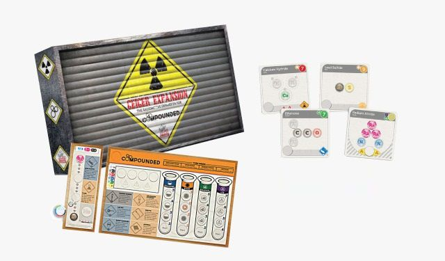 Compounded Geiger Expansão de Jogo de Tabuleiro Importado Dice Hate Me Games  - Place Games