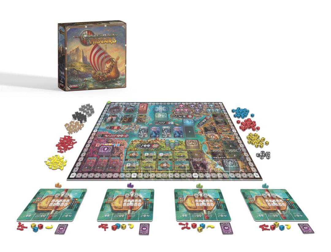 Conquistadores de Midgard Jogo de Tabuleiro Meeple BR  - Place Games