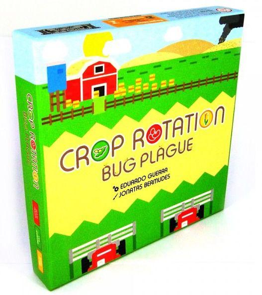 Crop Rotation Bug Plague Jogo de Tabuleiro Ludens Spirit CROP001  - Place Games