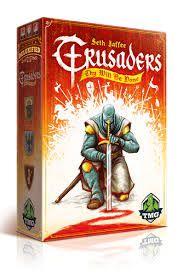 Crusaders Thy Will Be Done Jogo de Tabuleiro Importado Kronos Games  - Place Games