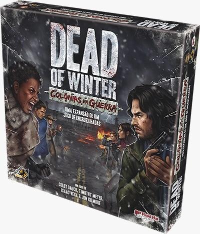 Dead of Winter Colonias em Guerra Expansão Galapagos DOW101  - Place Games