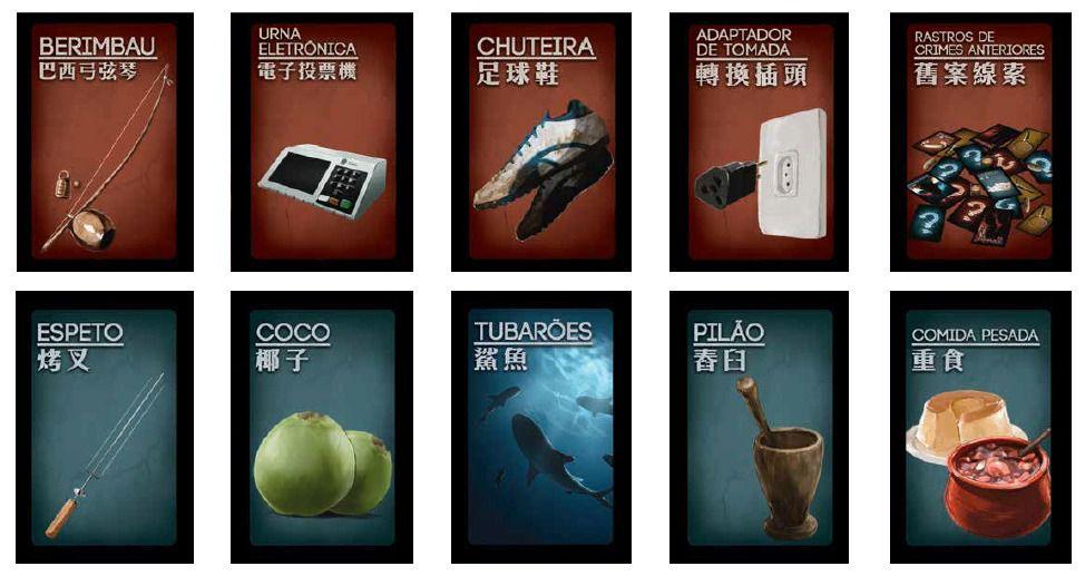 Deception Promocard Set 1 Jogo de Tabuleiro Across the Board  - Place Games