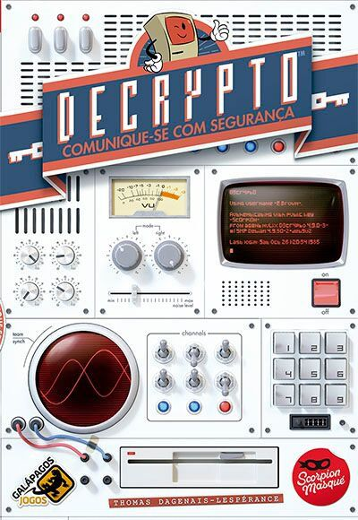 Decrypto Jogo de Tabuleiro Galapagos DCR001  - Place Games