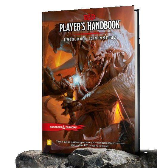 Dungeons & Dragons Players Handbook Livro Do Jogador Galápagos DND001  - Place Games