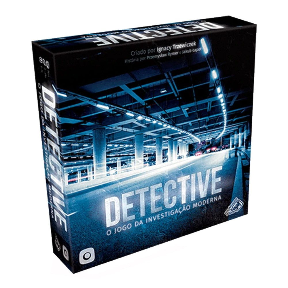 Detective Jogo de Tabuleiro Galapagos DET001  - Place Games
