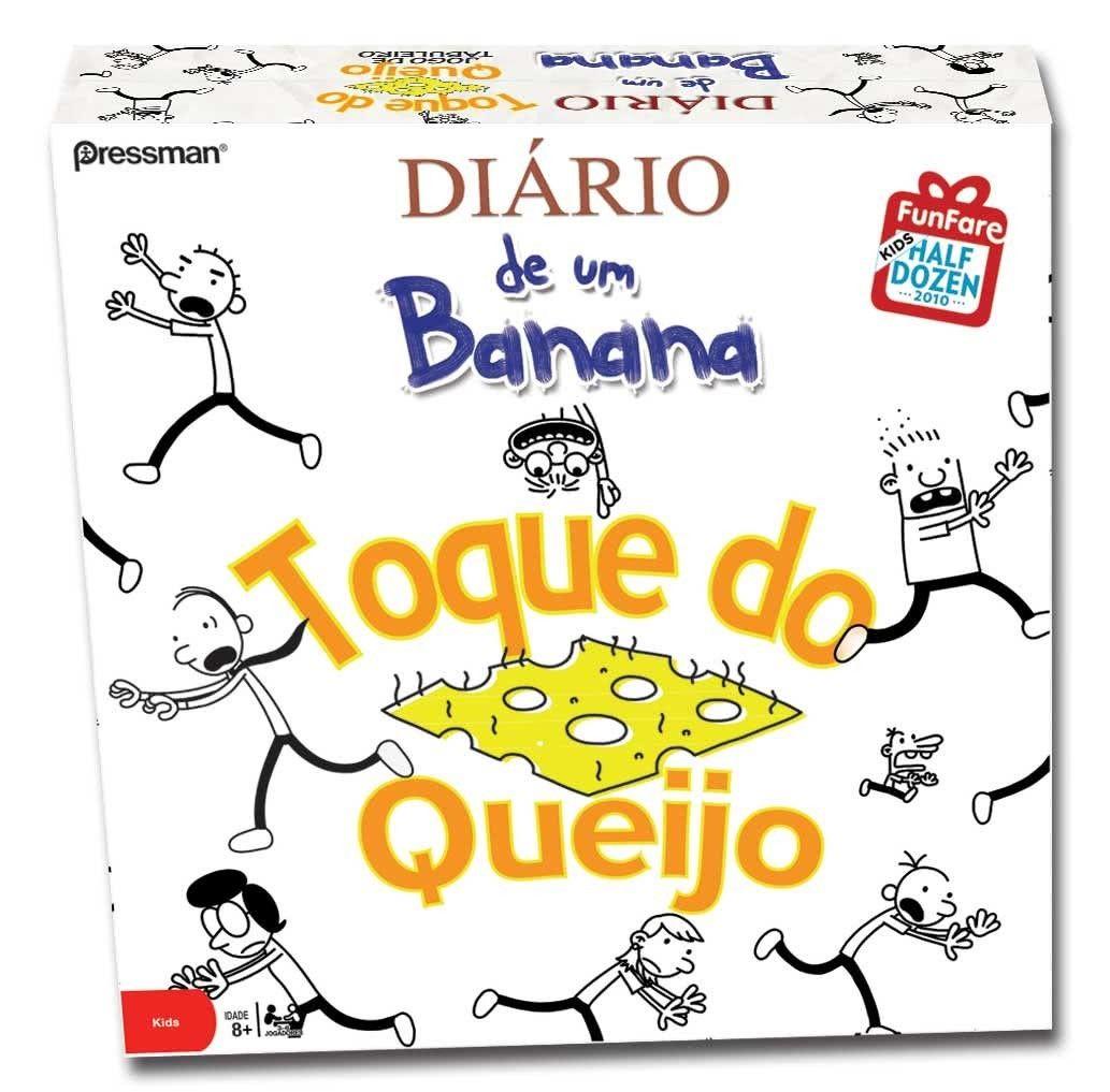 Diario de um Banana Toque do Queijo Jogo de Tabuleiro Devir JDT777003  - Place Games