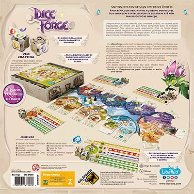 Dice Forge Galapagos DFO001  - Place Games