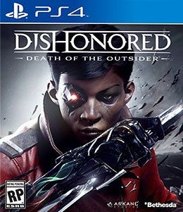 Jogo Dishonored: Death of the Outsider - Ps4  - Place Games