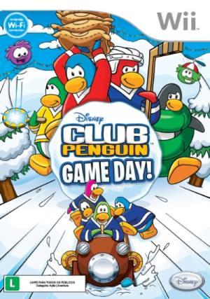 Disney - Club Penguin - Game Day Wii Usado Original  - Place Games