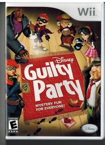 Disney - Guilty Party Wii Usado Original  - Place Games