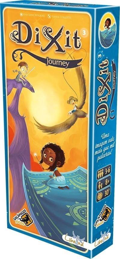 Dixit Journey Expansão de Jogo de Tabuleiro Galapagos DIX003  - Place Games