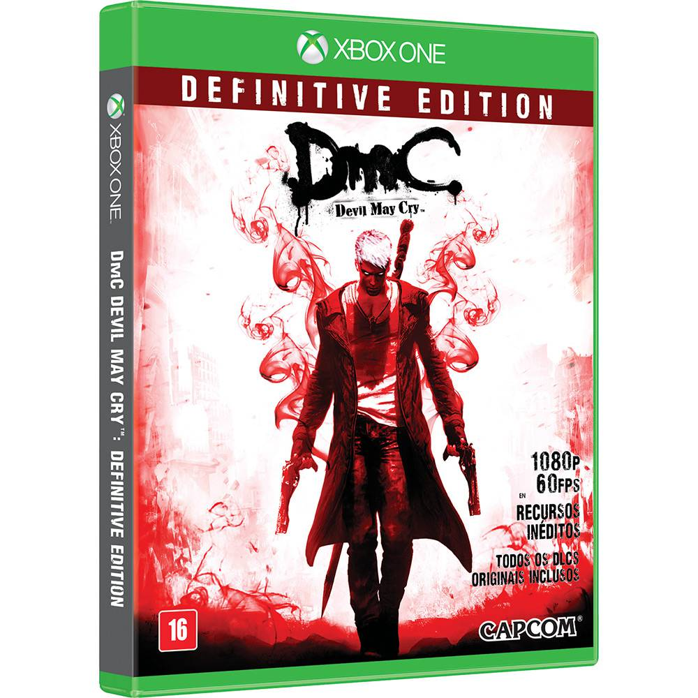 DmC Definitive Edition Xbox One Original Usado  - Place Games