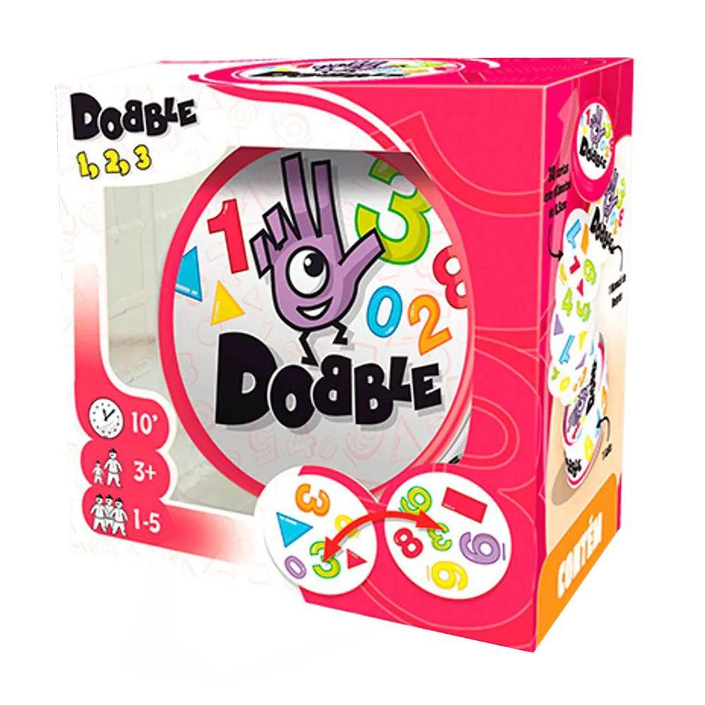 Dobble 1 2 3 Jogo de Cartas Galapagos DOB003  - Place Games