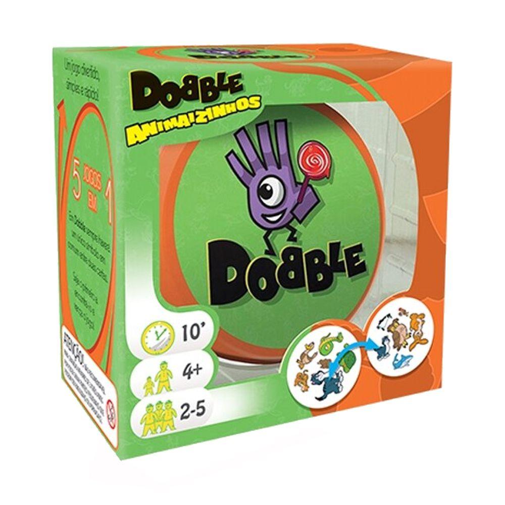 Dobble Animaizinhos Jogo de Cartas Galapagos DOB007  - Place Games