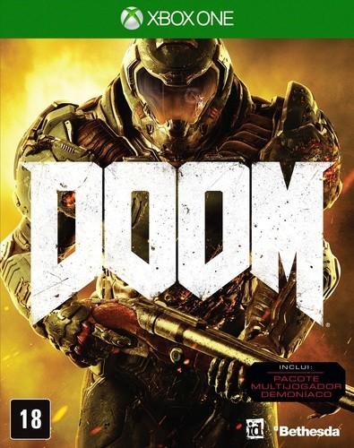 Doom Xbox One Original Usado  - Place Games