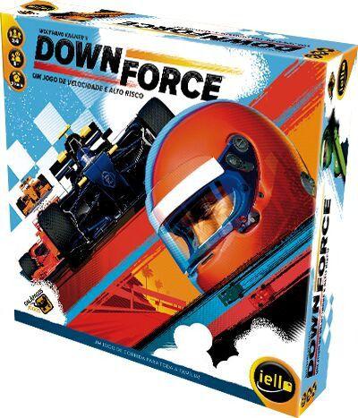 DownForce Jogo de Tabuleiro Galapagos DFR001  - Place Games