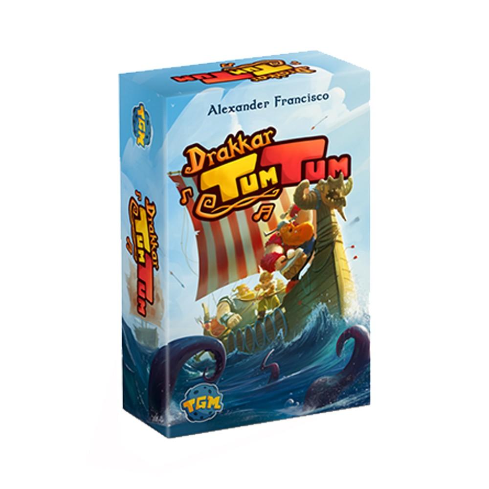 Drakkar Tum Tum Jogo de Cartas TGM Editora TGM0005  - Place Games
