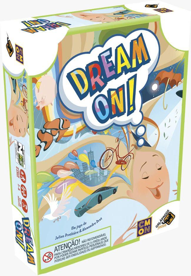 Dream On Jogo de Cartas Galapagos DRM001  - Place Games
