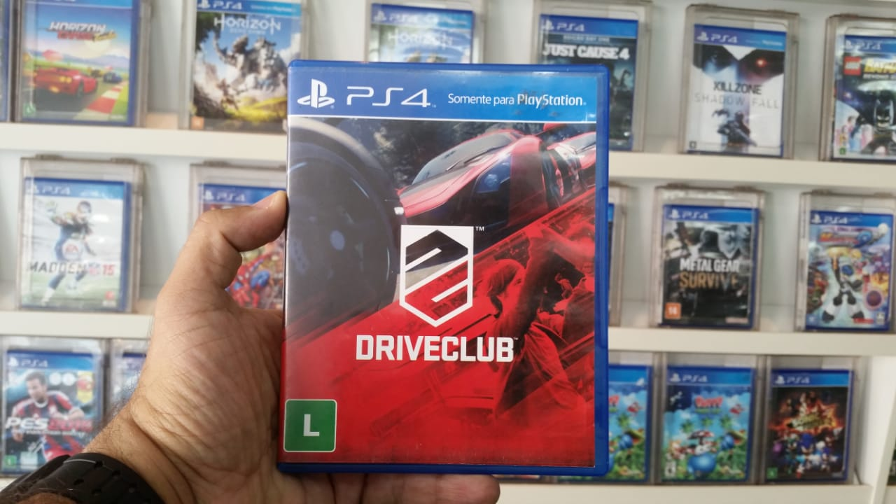 Driveclub Playstation 4 Original Usado  - Place Games