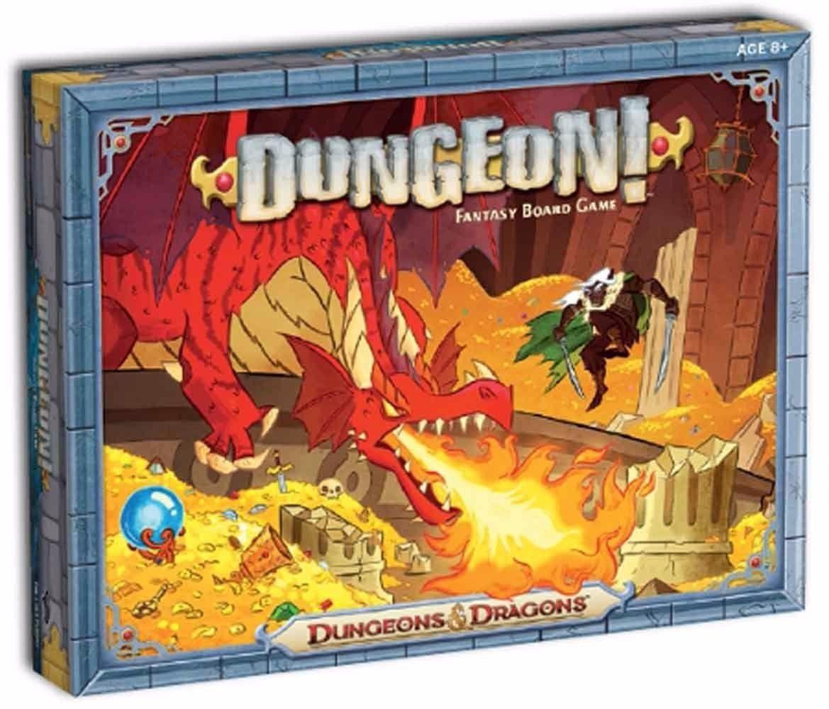 Dungeon! Fantasy Board Game Dungeons Dragons Jogo de Tabuleiro Importado  - Place Games